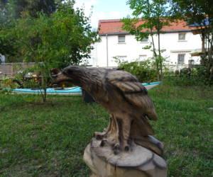 Holzadler Holzfiguren