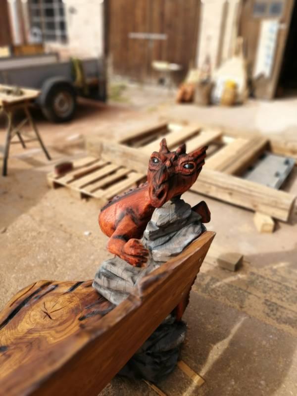 Holzdekoration